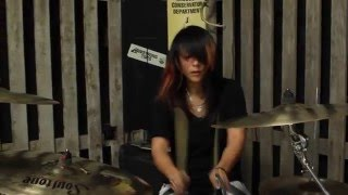 "Sara V - Dave Matthews Band - ""Drive In Drive Out"" Drum Cover"
