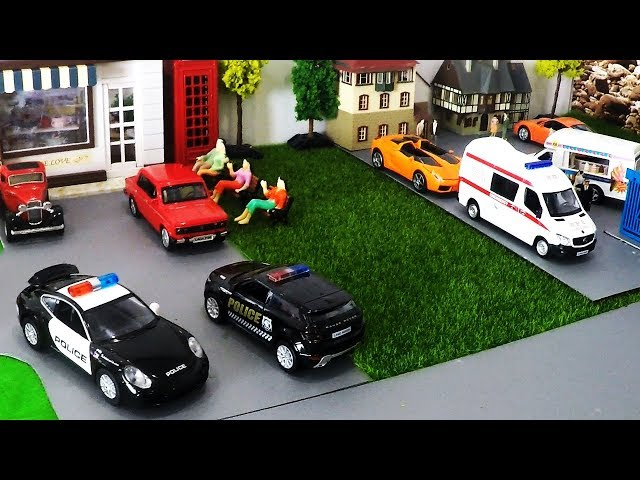 Car Cartoon for Children - Cartoon Cars - Car Parking for Kids - Bus for Children - Cartoon Toys