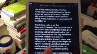 Listen to Kindle ebooks on IPhone and iPad via Voiceover Accessibility.
