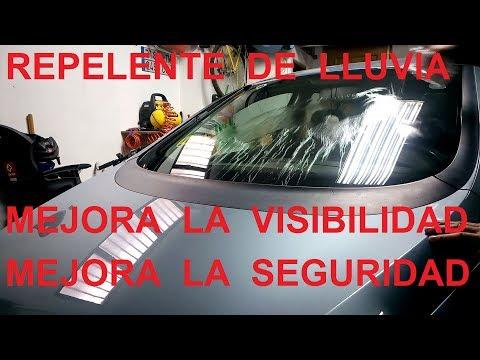 Repelente de agua de lluvia para el parabrisas de tu coche. Mejora la seguridad y la visibilidad