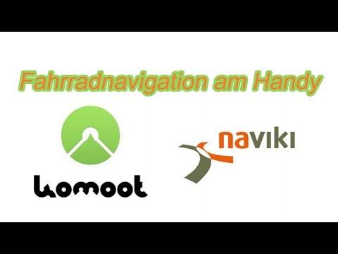 Fahrrad-Navigation am Handy mit komoot und naviki