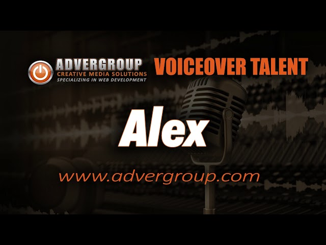 ALEX Male VOICEOVER  ..