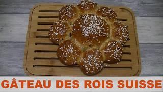 Un gâteau des Rois suisse (brioche)