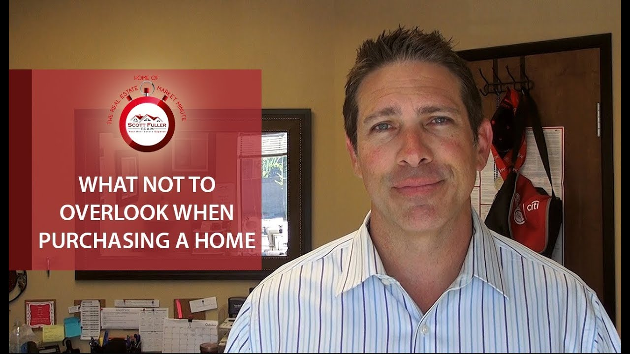 5 Things You Shouldn't Overlook When Purchasing a Home