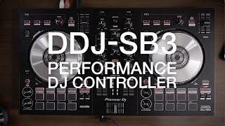 Pioneer DDJ-SB3 DJ Controller with Odyssey Case Package | IDJNOW