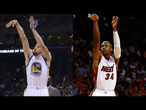 NBA Legend Ray Allen Says Steph Curry is the BEST Shooter EVER