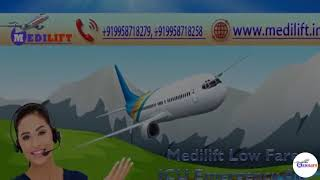 Excellent Air Ambulance Service Provider in Ranchi at Low Fare