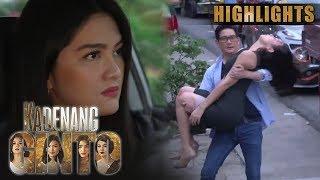 Daniela, binangga ang sasakyan ni Romina | Kadenang Ginto (With Eng Subs)