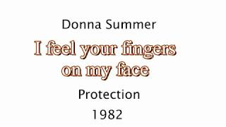 Protection   Donna Summer   Lyrics  1982