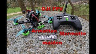 Armattan Marmotte DJI FPV HD maidenflight - team #bckflp