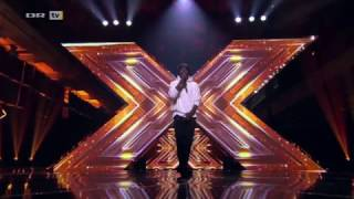 X Factor Denmark 2017 - Ronald Sings Hold On We're Going Home - 5 Chair Challenge