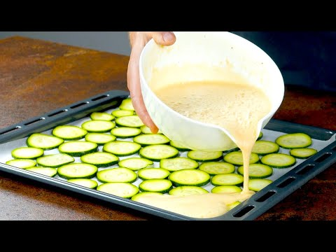 Slice 2 Zucchinis & Pour This Delicious Mixture On Top