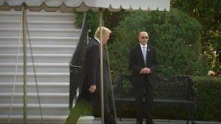 Тармп покидает саммит G7 раньше времени