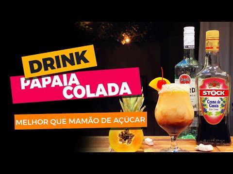 Drink com Mamão