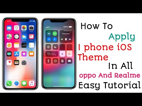 oppo A5s How To Apply iOS Theme in Android phone| iOS 13 Theme in oppo And Realme Device