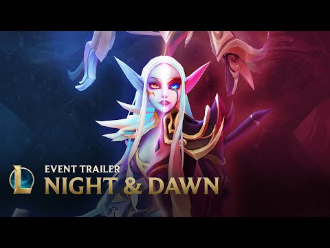 Strike the Skies | Night & Dawn Event Trailer –  League of Legends