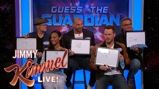 The Cast of Guardians of the Galaxy Vol. 2 Plays 'Guess the Guardian'