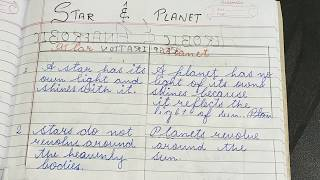 Difference between star and planet in hindi