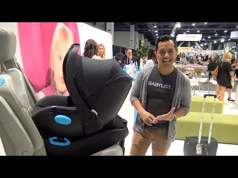 Clek Liing Infant Car Seat Demo & Review | First Look at ABC Kids Expo 2018