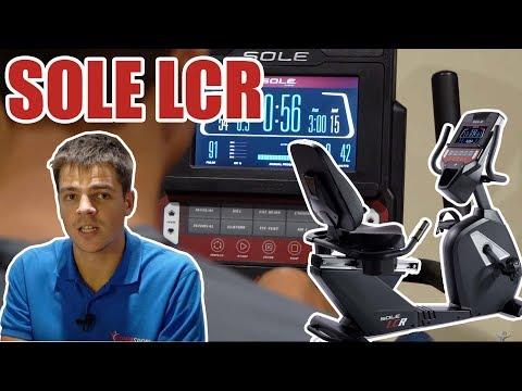 Горизонтальный велотренажер Sole LCR