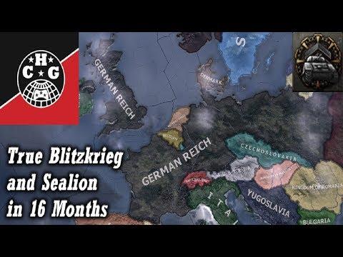 HOI4] Capitulating France & UK in 8 days  - смотреть онлайн на Hah Life