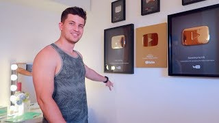 VLOG: ВСЕ НАШИ КНОПКИ YouTube!  25.06.18