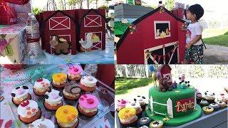 Old MacDonald Farmyard  Themed 2nd Birthday Party