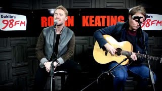 Ronan Keating Performs 'Let Me Love You' On The Big Breakfast
