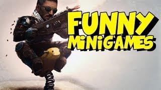 Funny Counter Strike Moments - CS GO Lego Minigames