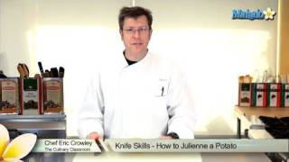 Knife Skills - How to Julienne a Potato