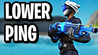 How To LOWER YOUR PING In Fortnite On PS4! (Wired Or Wireless)