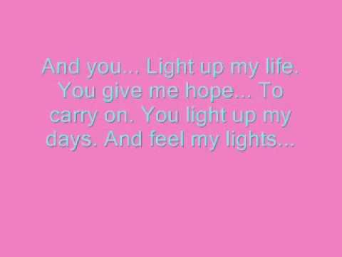 LeAnne Rhymes   You light up my life Lyrics ^^