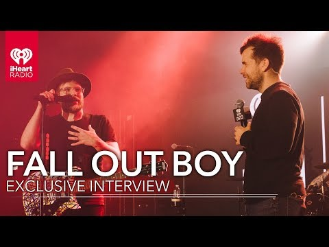 """Fall Out Boy Talks Working With Wyclef Jean On """"Dear Future Self (Hands Up)"""" + More!"""
