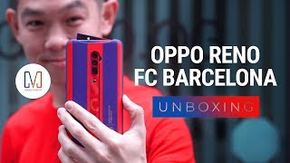 OPPO Reno FC Barcelona Edition Unboxing