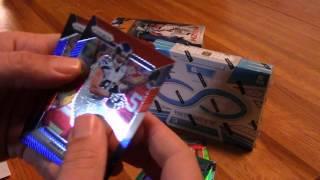 2016 Prizm and 2016 Infinity Football Box breaks Ezekiel Elliott Green