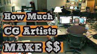 How Much Do 3D Artist Make