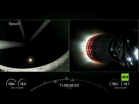 العرب اليوم - شاهد: شركة سبيس إكس تطلق مجموعة جديدة من أقمار ستارلينك