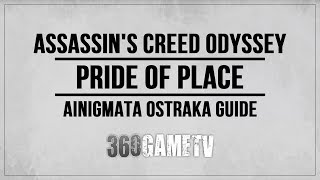 Assassin's Creed Odyssey Pride of Place Ainigmata Ostraka Location / Solution (Pirate Islands)