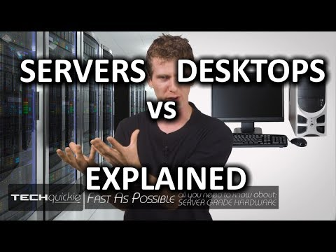 Servers vs Desktop PCs as Fast As Possible