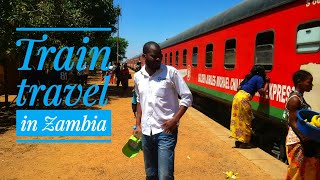 preview picture of video 'Train travel in Zambia (a brief introduction)'