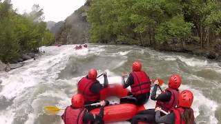 preview picture of video 'Rafting Llavorsi (Noguera Palleresa)'