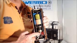 Geschichte des Schwingverdichters Engel portable fridge coolers Kompressorkühlbox WEMO 12V Kühlbox