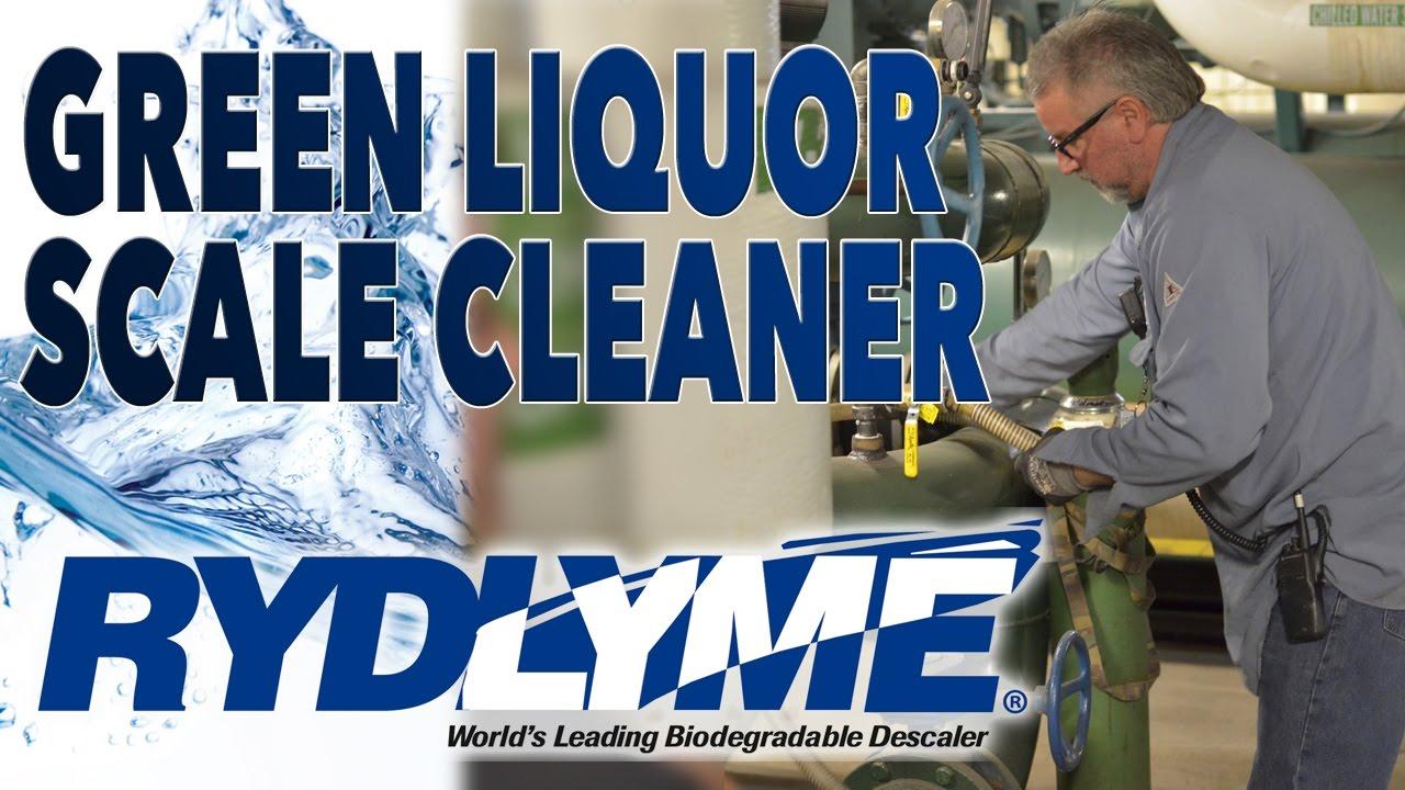 RYDLYME dissolves green liquor sample