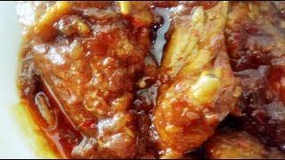 Resepi Ayam Masak Merah Paling Sedap ;)