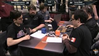 Grand Prix Toronto 2015 Finals: Edgar Magalhaes vs. Lucas Siow