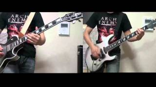 Arch Enemy - Blood on Your Hands guitar cover
