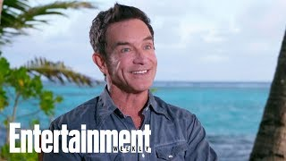 'Survivor: Winners At War' - Jeff Probst On The Marooning | Entertainment Weekly