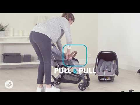 Maxi-Cosi Laika stroller - How to attach car seat