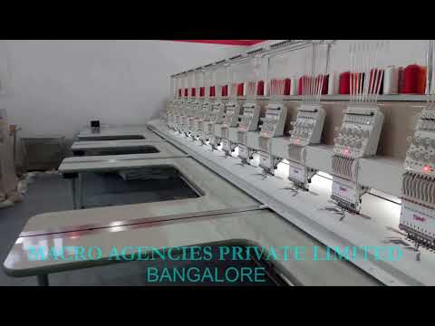 Multi Heads Automatic Embroidery Machines