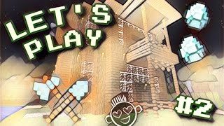 LP Minecraft Бесконечное лето #2 (Kirill Klass) (Постройка дома)